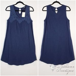 Lucky Brand Navy Women's Dress, NWT, M